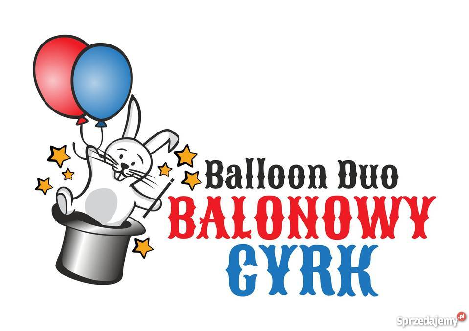 Duet Klaunów Balonowy Cyrk teatrzyk illuzja obsługa imprez