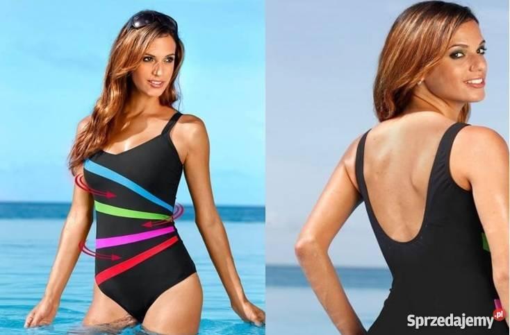 770a859f5dd5c4 Strój kąpielowy kostium jednoczęściowy czarny. Strój kąpielowy kostium  jednoczęściowy Warszawa