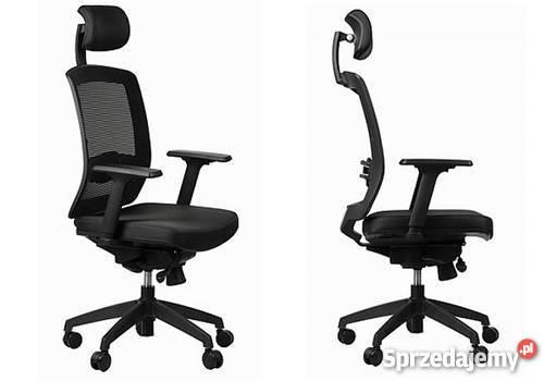 Fotel Obrotowy Biurowy Krzesło Do Biura Siatkowe Wys Gratis
