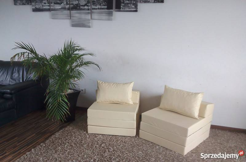 Materac składany rozkładany fotel sofa łóżko Pecna