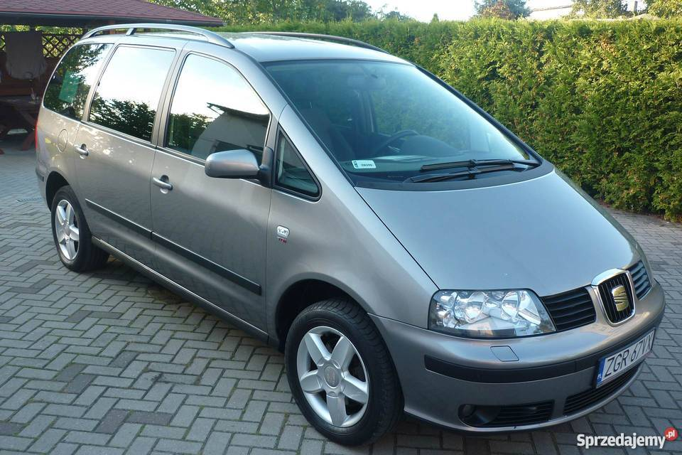 seat alhambra 2007 2 0 tdi 7 osobowy daleszewo. Black Bedroom Furniture Sets. Home Design Ideas