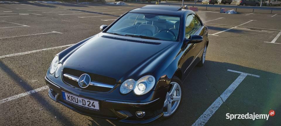 Mercede Benz CLK 500 V8 AMG Szyber Mały Przebieg