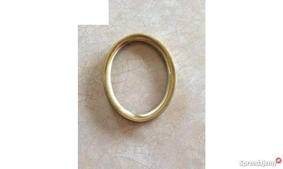 Ramka do zdjęć złota zdjęcie 10x8 na płytę Strzegowo