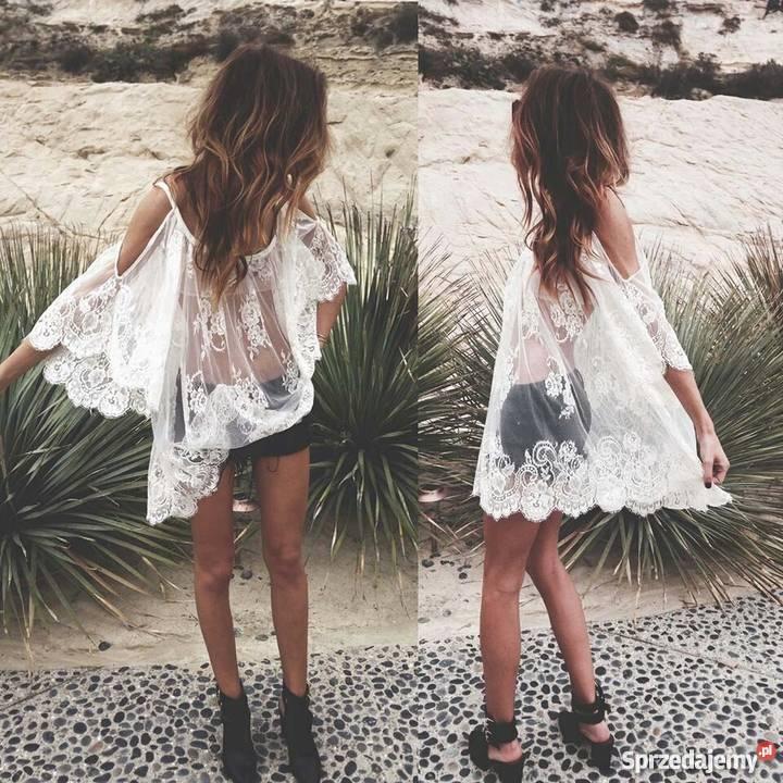 99b33a86e Koronkowa sukienka na plażę, rozm. Unisex Gliwice - Sprzedajemy.pl
