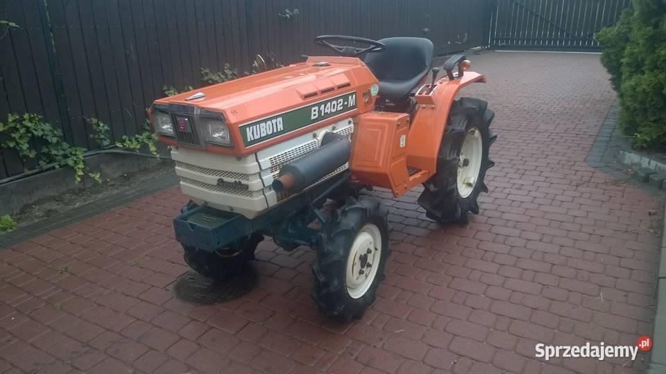 Kubota B1402 japoński traktorek ogrodniczy nie Yanmar