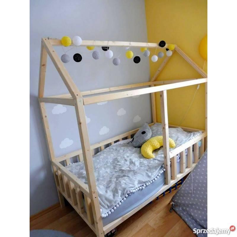 łóżko Domek Housebed 160x80 Wysyłka Różne Rozmiary Niemalowa Gorlice