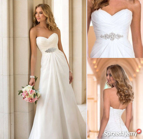 b6cf1cdd52 suknie ślubne xxl - Sprzedajemy.pl