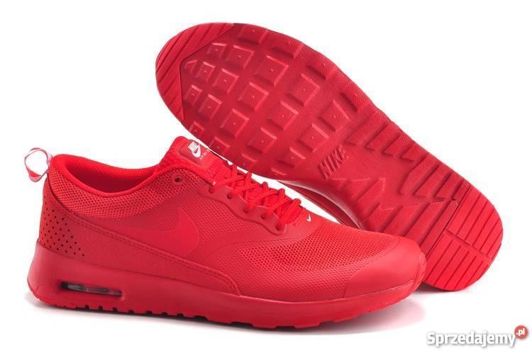 Nike WMNS Thea Red Czerwone r. 36.37.38.39.40