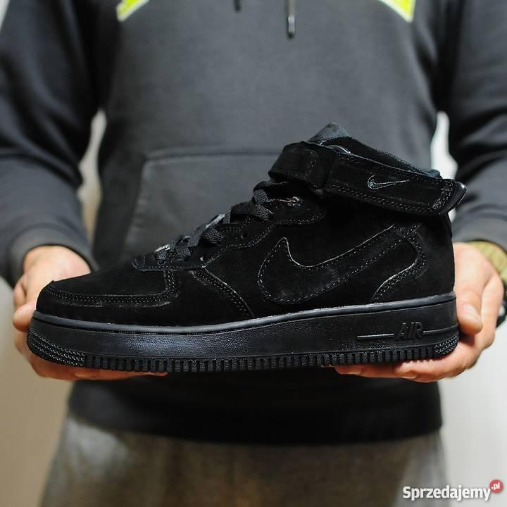 Nike Air Force 1 Mid Winter All Black r41-45 Lublin - Sprzedajemy.pl 504ffeeb5764
