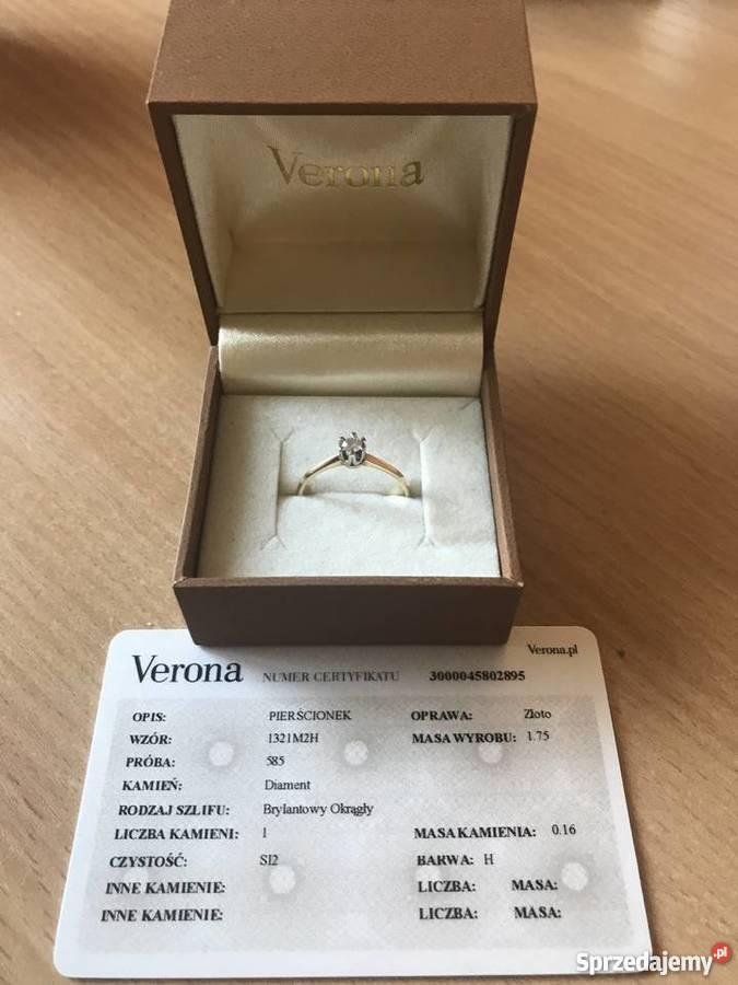 Młodzieńczy pierścionek zaręczynowy - Sprzedajemy.pl WS46