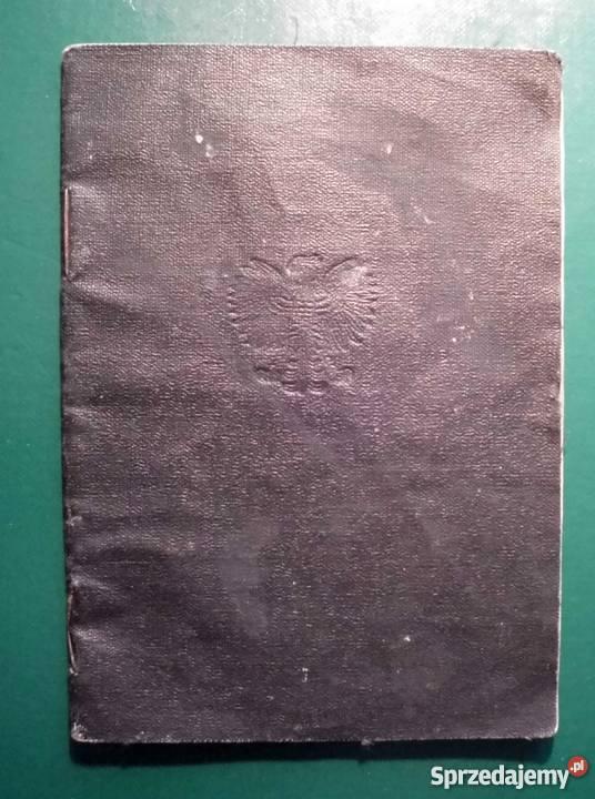 Dowód tożsamości KONIA 1949 sprzedam małopolskie Kraków