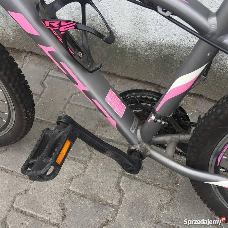Rower KROSS LEA F2 różowografitowy
