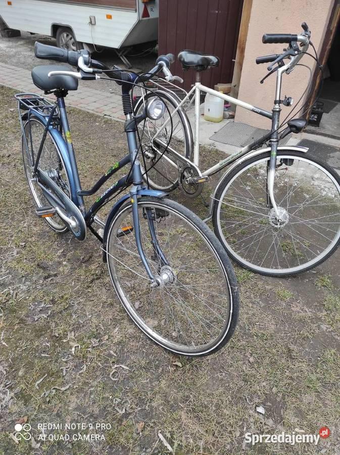 sprzedam dwa rowery gazelle