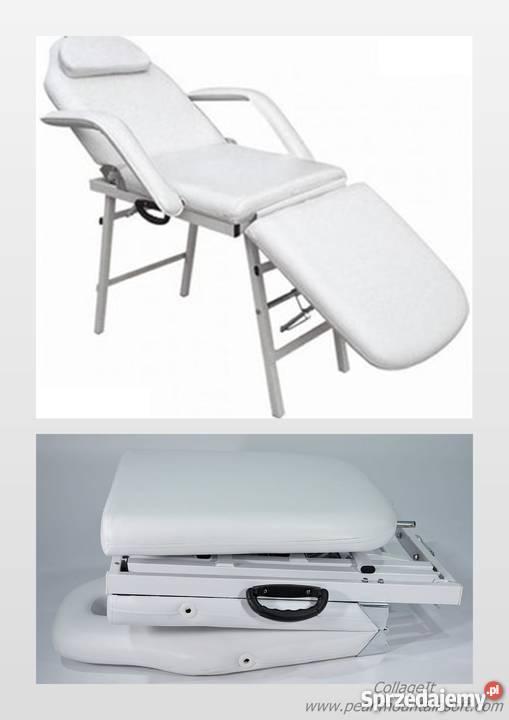 Fotel Kosmetyczny Przenośny Basic łóżko Kosmetyczne Nowe