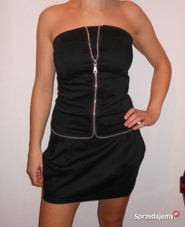 9f778637cc Sukienka zip czarny Płock sprzedam