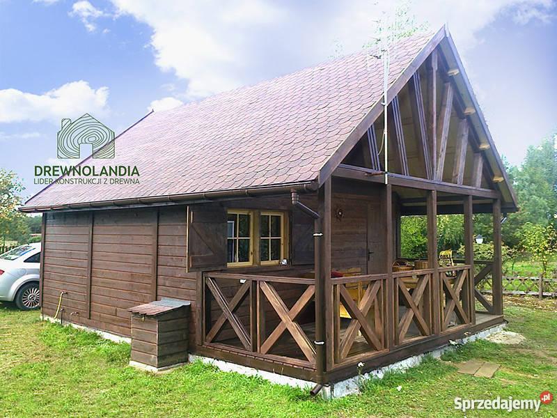 domek letniskowy ogrodowy altana 35 dom drewna zachodniopomorskie sprzedam