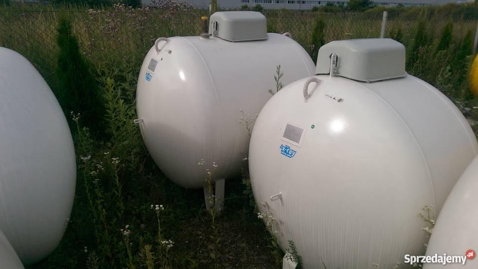 Poważnie Zbiornik na gaz 2700 l, butla na GAZ PROPAN LPG NOWY Wrocław VB39