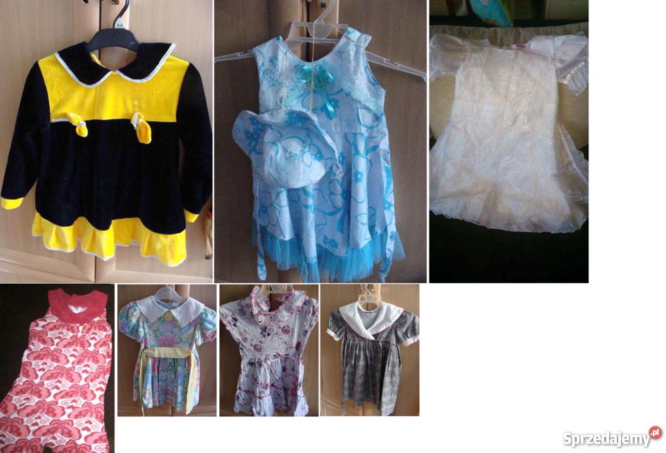 daa7f4bffb sukienki dziewczęce na 116 sukienki Poznań - Sprzedajemy.pl