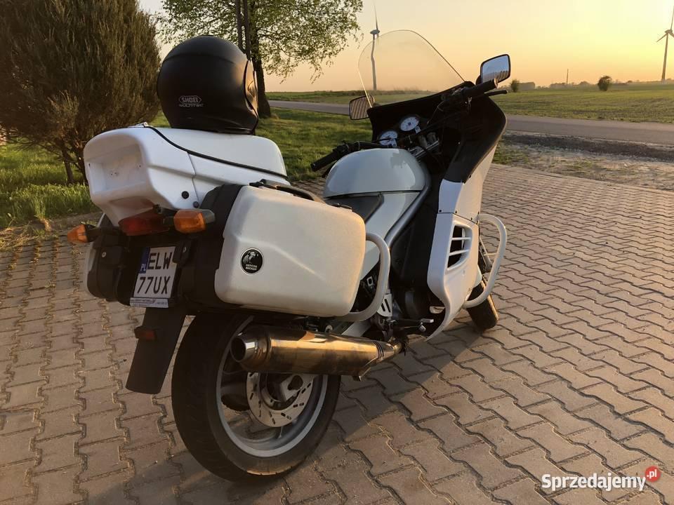 Motocykl MuZ Policyjny