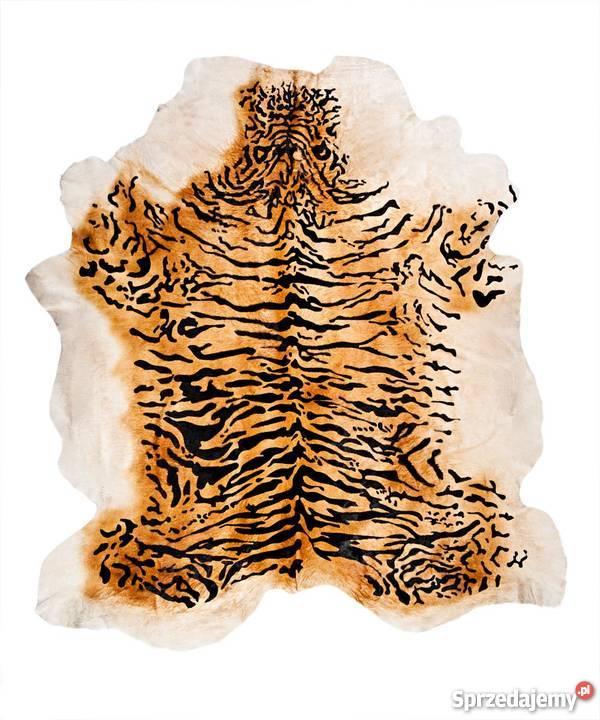 Dywan Skóra Bydlęca Zebra Tygrys żyrafa