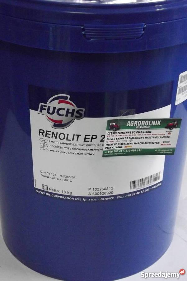 Wspaniały Smar wielofunkcyjny litowy FUCHS RENOLIT EP2 Parczew - Sprzedajemy.pl BO07