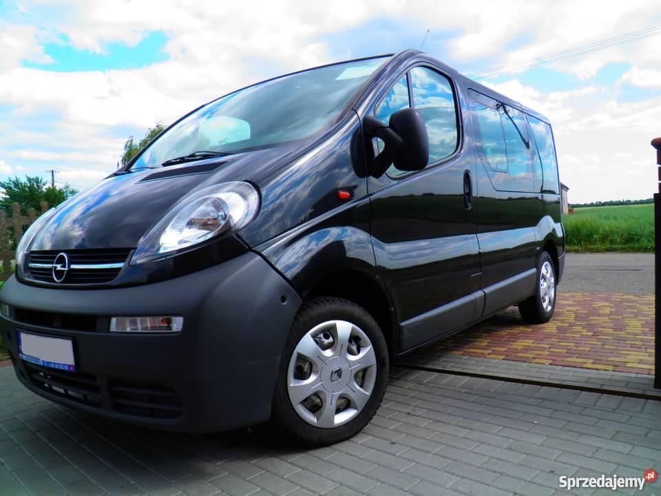 Bardzo dobra Opel Vivaro, 9 osobowy, klima. Dąbrowa - Sprzedajemy.pl JF95