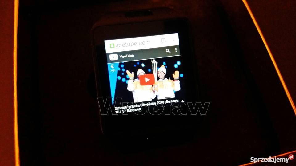 Smartwatch QW09 androd 3G wifi bluetooth 40 Wrocław sprzedam