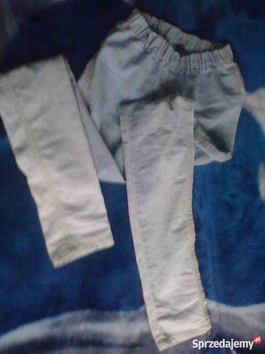 spodnie rurki na gumce rozm xs s Nowy Targ Sprzedajemy.pl