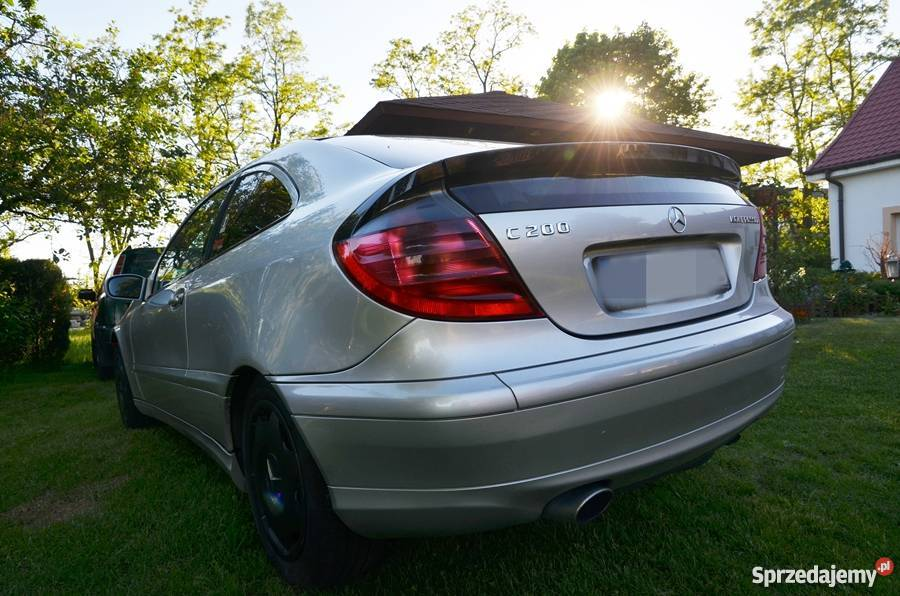 Mercedes W203 Sport Coupe 2 0 Kompresor Gorz 243 W
