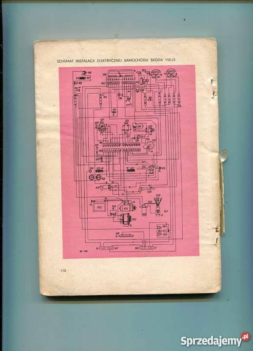 Skoda 100 100L 110L 110LS Instrukcja obsługi i