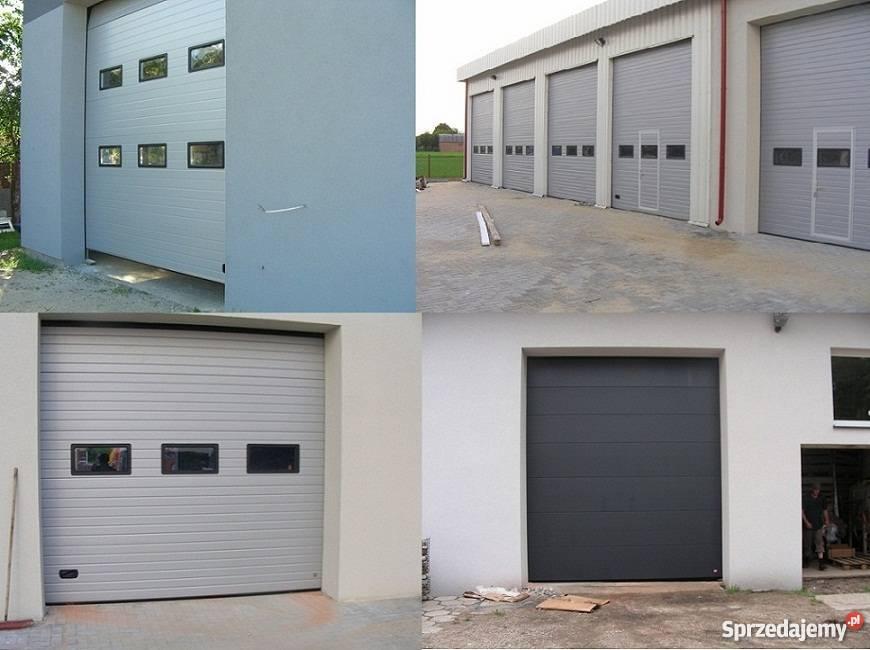 Nowość Brama Drzwi Garażowe Segmentowe 3000x3000 Pułtusk - Sprzedajemy.pl NJ02