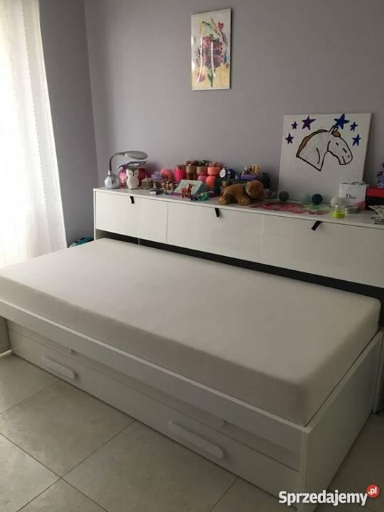 Sprzedam łóżko Podwójne Z Nadstawką Replay Agata Meble