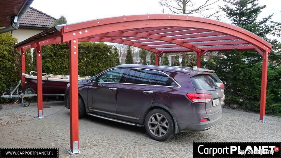 Zadaszenia na samochody wiaty garażowe wiata na Wrocław sprzedam