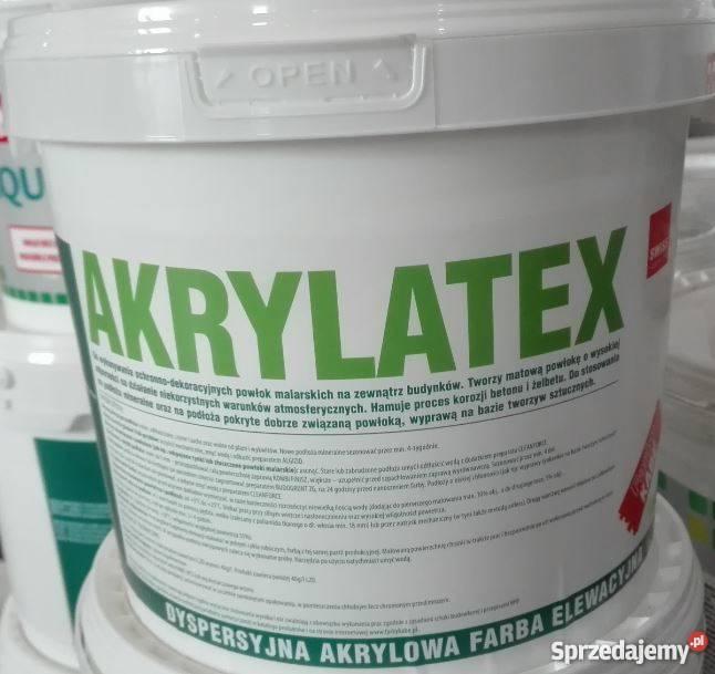 Farba Do Betonu Akrylatex Kabe Lublin Ogrodzenia Cokoly