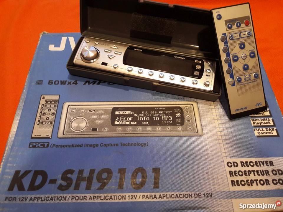 JVC KDSH9101 w super stanie JVC mazowieckie Trzcianka sprzedam