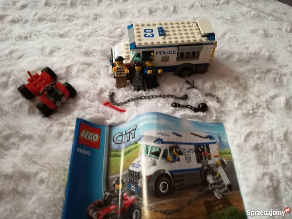 Okazja Klocki Lego City 60043 Furgonetka Policyjna Warszawa