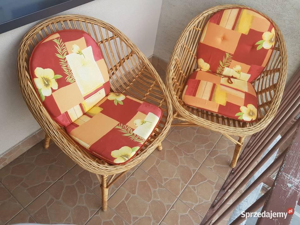 Sprzedam 2 wygodne fotele na balkon lub taras