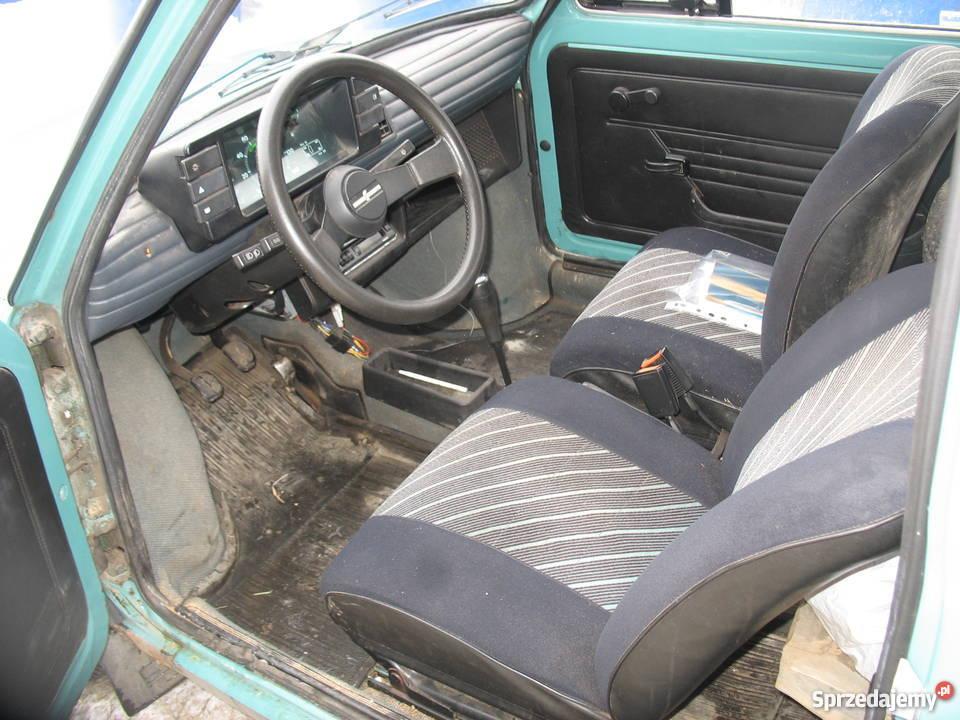 fiat 126p zarejstrowany oryginał kupiony w polskim salonie 126 Samochody osobowe Gwizdów