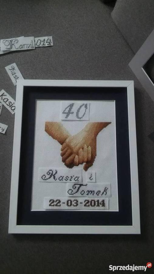 pamiątka ślubu rocznicy Czerwionka-Leszczyny