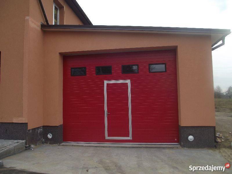 W Mega Brama Drzwi Garażowa Segmentowa do otworu 3500x3500 Pułtusk IF09