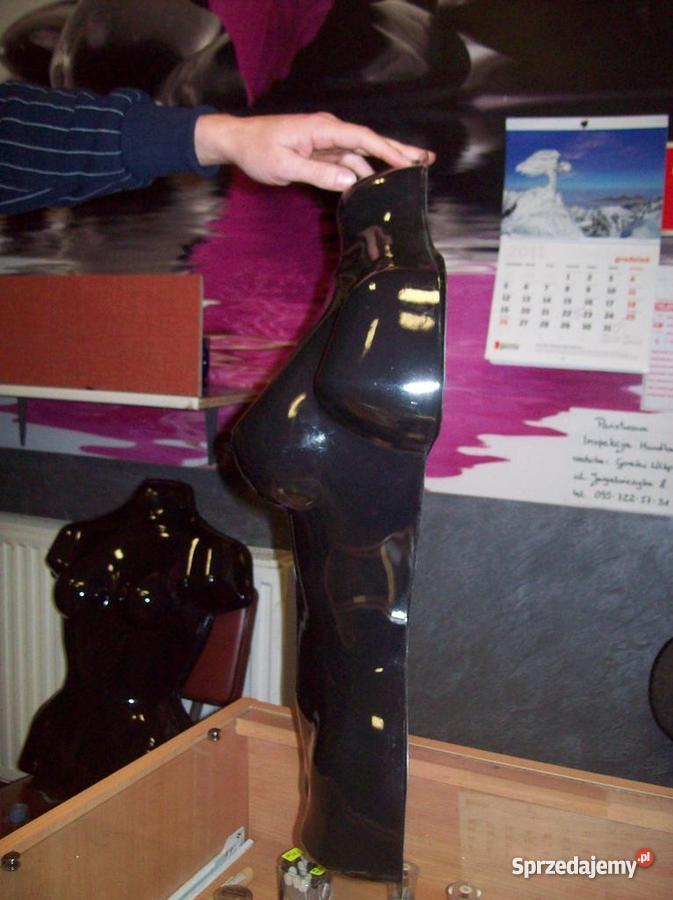 Manekin wystawowy wytłaczany wiszący tułów kobie Sklep lubuskie Gorzów Wielkopolski sprzedam
