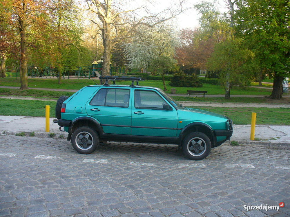 VW GOLF COUNTRY hak Gorzów Wielkopolski
