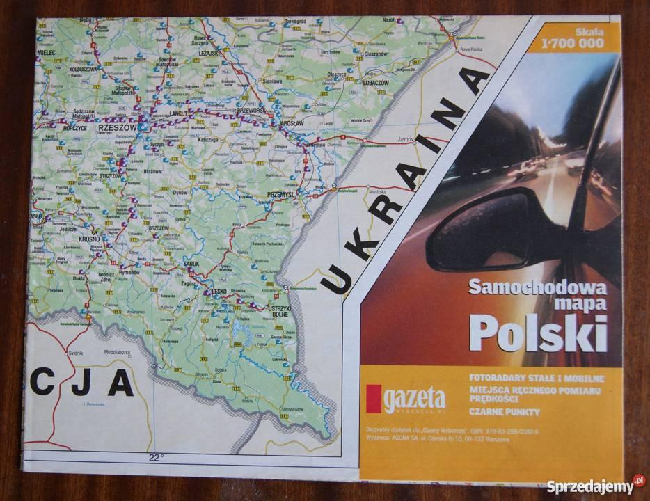 Samochodowa Mapa Polski Parczew Sprzedajemy Pl