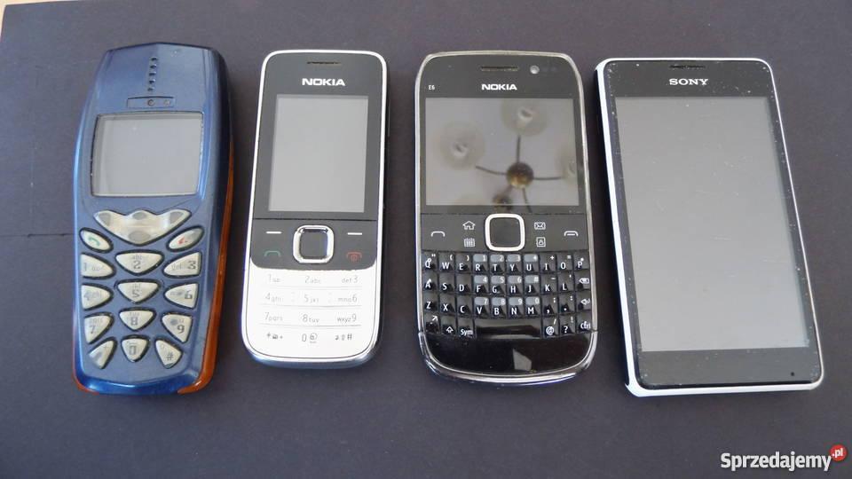 Rewelacyjny Sony. Nokia. Stare telefony dla kolekcjonerów i zbieraczy NA31