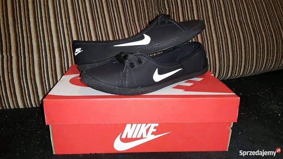 5c7149f36fa6b Nike Balerinki Nowe Czarne Trampki Rozm Tenisówki Baletki 38 ppqIwT4