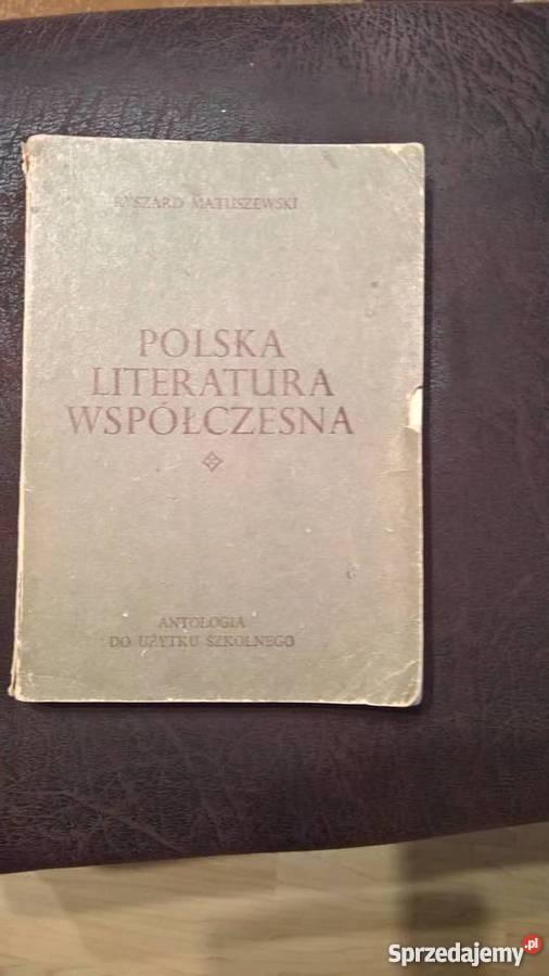 Polska Literatura współczesna RMatuszewski
