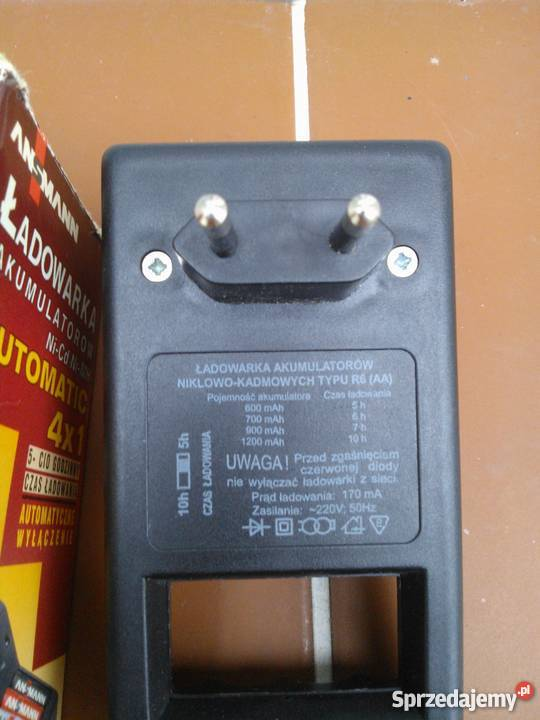 Ładowarka akumulatorków NiCd typ R6 Pozostałe Koszalin