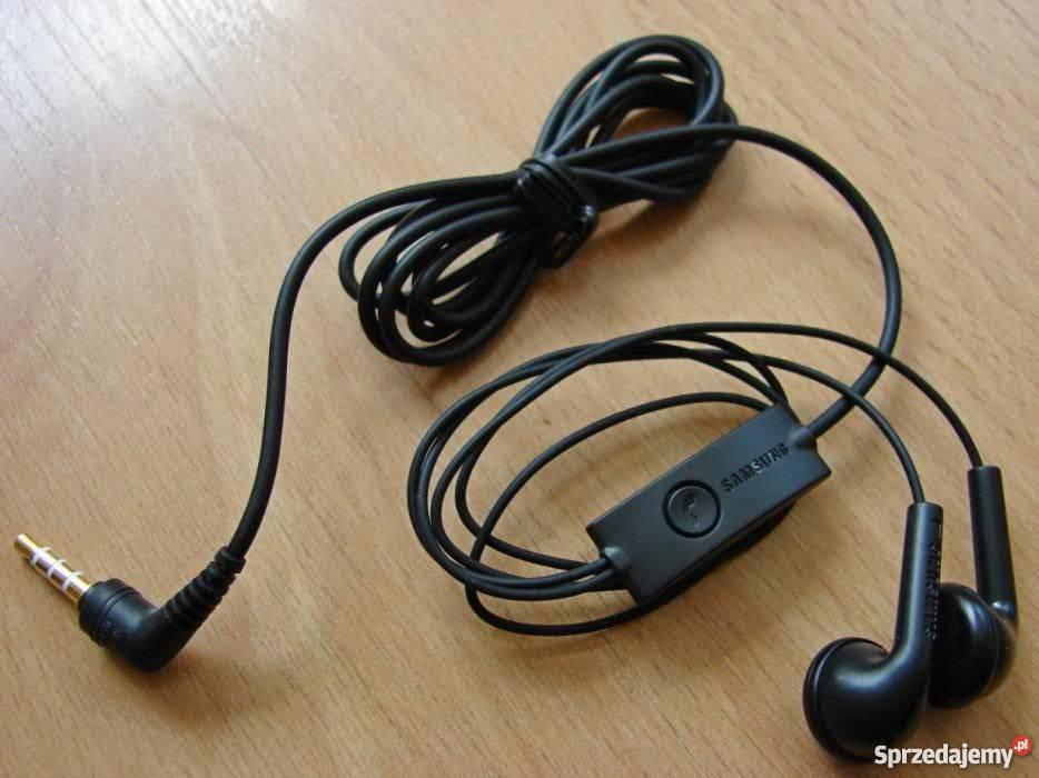 Słuchawki do Smartphone douszne, jack 3,5