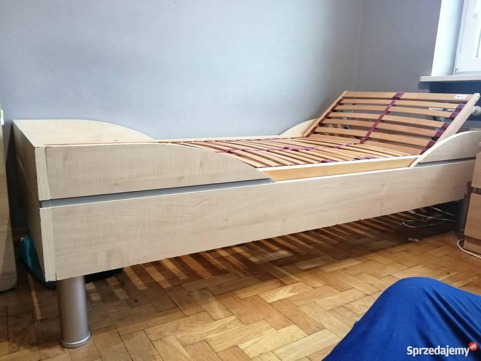 łóżko 90 X 200 Regulowany Stelaż