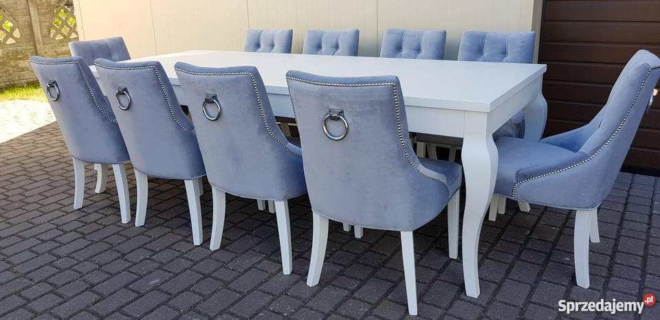 Krzesło nowoczesne tapicerowane pikowane z Stoły, krzesła, biurka pomorskie Starogard Gdański